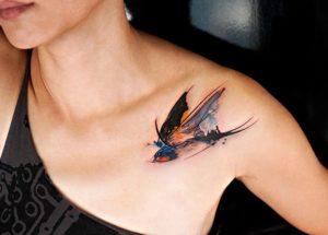 jaskółka symbol tatuażu